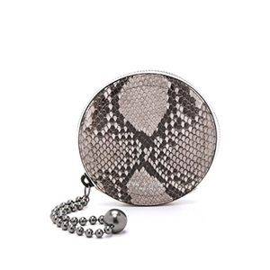 Rag & Bone Circle Fawn Python Coin Purse